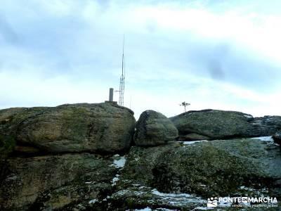 Cabeza Mediana y Camino de la Angostura; rutas de senderismo en madrid; viajes de montaña